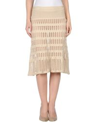 Gattinoni Mini Skirt - Lyst