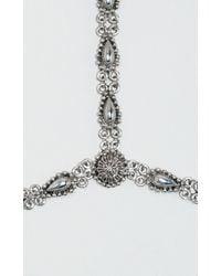 Vanessa Mooney The Stars Of Crystal Bracelet gray - Lyst