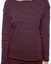 Chinti And Parker Chinti Parker Breton Sailor Tshirt in Fluro Stripe - Lyst