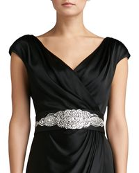St. John Collection Duchesse Belt with Hand Beading - Lyst