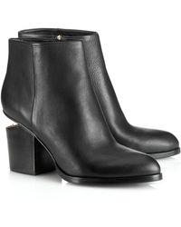 Alexander Wang Black Cut Out Gabi Boots - Lyst