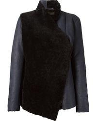 Osklen - Shearling Panel Jacket - Lyst