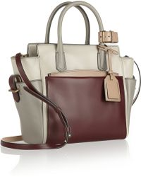 Reed Krakoff Atlantique Mini Color-block Leather Tote - Lyst