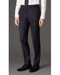 Burberry Slim Fit Virgin Wool Suit - Lyst