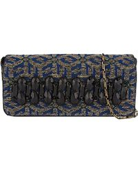Dries Van Noten Embellished Tapestry Clutch Bag - For Women - Lyst