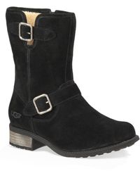 Ugg Ladies Chaney Suede Boots - Lyst