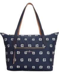 Cole Haan Parker Nylon Zip Top Shopper - Lyst