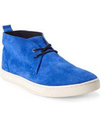Diesel Royal Blue Drive Time Sneakers - Lyst