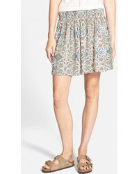 Ace Delivery Smocked Skirt - Lyst
