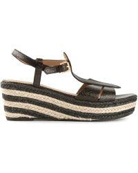 Marc By Marc Jacobs Platform Wedge Sandals - Lyst