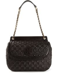 Tory Burch Textured Shoulder Bag - Lyst