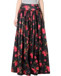 Michael Kors Pink Long Skirt - Lyst