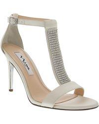 Nina Cabaret High-Heel Dress Sandals - Lyst