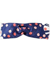 Fendi Polka Dot Print Headband - Lyst