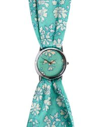 Liberty - Small Capel Print Knot Watch - Lyst