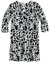 J.Crew Le Sirenuse™ Beach Caftan In Abstract Floral blue - Lyst