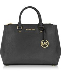 Michael Kors Large Sutton Satchel - Lyst