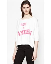 French Connection | Rue De Camden Cotton Jumper | Lyst
