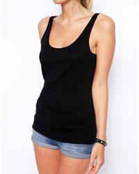 Asos Tank with Scoop Neck 2 Pack Save 20 - Lyst