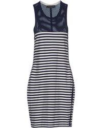 Rag & Bone Blue Short Dress - Lyst