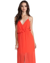 Rory Beca Andres Maxi Dress in Orange - Lyst