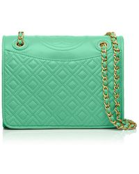 Tory Burch Fleming Medium Bag - Lyst