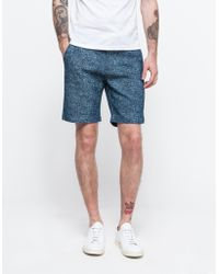 Need Supply Co. Ice Denim Short blue - Lyst