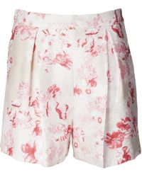 Giambattista Valli Pleat Front Short - Lyst