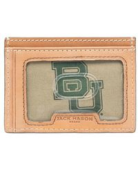 Jack Mason Brand | 'gameday - Baylor Bears' Leather Card Case | Lyst