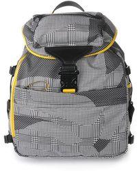 Alexander McQueen Prince Of Wales Printed Backpack - Lyst