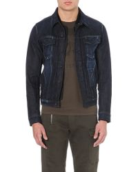 Diesel Elshar Hpd Stretch-denim Jacket - Lyst