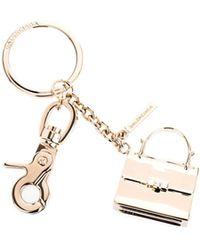 Balenciaga Le Dix Bag Key-Ring gold - Lyst