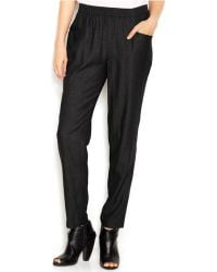 Kensie Pull-On Soft Pants - Lyst