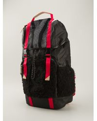 Y-3 Contrasting Panel Backpack - Lyst