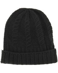 Joseph Abboud Cable Cuff Hat - Lyst