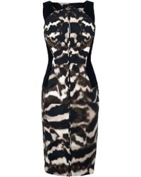 Amanda Wakeley Mesi Short Dress - Lyst