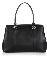Gucci | Miss Gg Leather Tote | Lyst