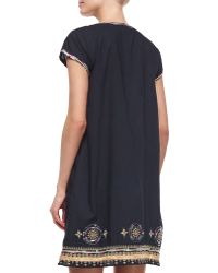 Calypso St. Barth | Efima Embroidered Caftan Dress | Lyst