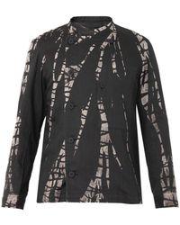 Issey Miyake Lagoon Bleached Shirt - Lyst