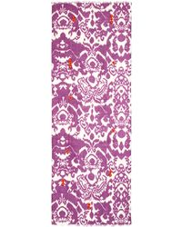 Rose & Rose Beaded Ikat Scarf - Lyst
