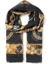 Versace Jewel Print Pashmina - Lyst