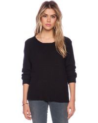Neuw Black Rope Sweatshirt - Lyst