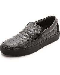 Won Hundred Willow Slip On Sneakers  Black - Lyst