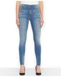 Levi's Juniors Highwaist Denim Leggings - Lyst