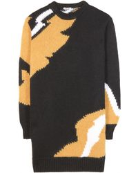 Miu Miu Woolblend Sweater Dress - Lyst