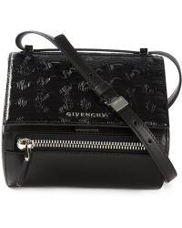 Givenchy Mini 'Pandora' Shoulder Bag black - Lyst