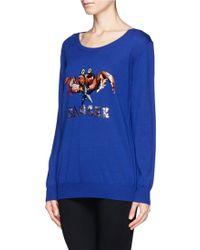Markus Lupfer Cancer Sequin Sweater - Lyst