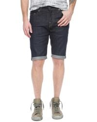 True Religion Dean Denim Mens Short - Lyst