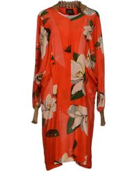 Vivienne Westwood Anglomania Knee Length Dress - Lyst