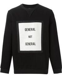 General Idea - 'general Not General' Sweatshirt - Lyst